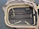 Jedno ze zavazadel, ve kterých mladé Islanďanky pašovaly kokain.