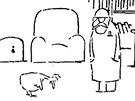 Záběr z Jiránkova kresleného filmu Co jsme udělali slepicím (1978), za který...