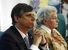 Jan Fischer a Zuzana Roithová - debata prezidentských kandidátů o evropské vizi