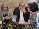 Marta Kubišová oslavila v divadle Ungelt sedmdesátiny (s Táňou Fischerovou a