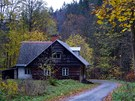 Osada Na Samotě  v údolí Stříbrného potoka