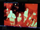 Specální termokamera zabírá stánek Technet.cz na festivalu Týden vědy a