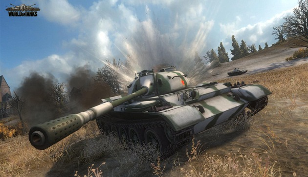 World of Tanks - �ínské tanky