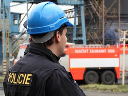 Policista během vyšetrování okolností exploze v huti ArcelorMittal Ostrava