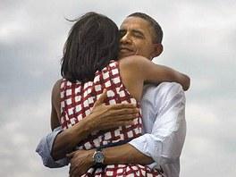 Fotografie, kterou zveřejnil Barack Obama na svém twitterovém účtu krátce po