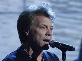 Z koncertu na podporu americk�ho �erven�ho k��e po hurik�nu Sandy (Jon Bon