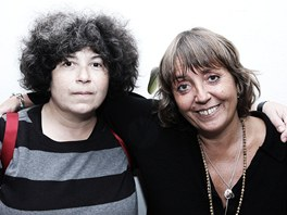 Irena Dousková a Bára Hrzánová