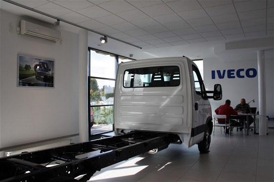 Nové prodejní a servisní centrum IVECO v Srba Servisu Jíloviště