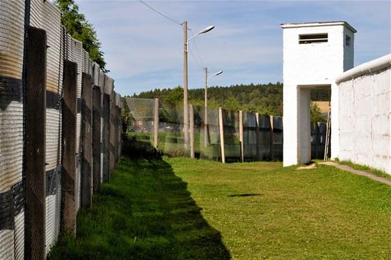 Tak vypadala hranice totalitního státu. Venkovní expozice Německo-německého muzea v Mödlareuthu