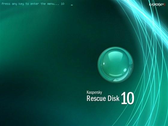 ISO obraz záchranného disku od Kaspersky, AVG či Trend Micro je třeba vypálit