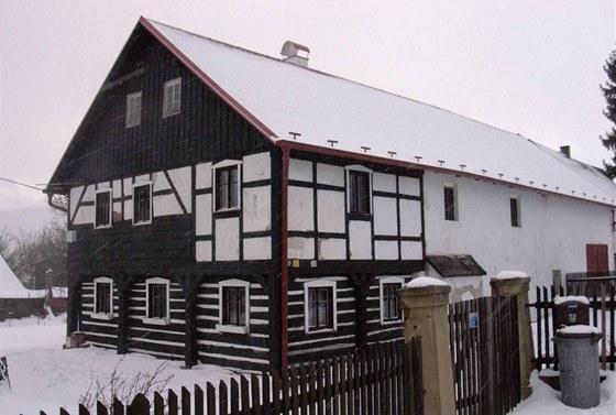 Původní stav domu, který pochází zřejmě z poloviny 19. století.