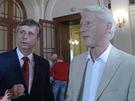 Z dokumentu Hledá se prezident - Jan Fisher s poradcem Ladislavem Špačkem