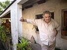 Jos� Mujica �ije na skromn� farm� nedaleko Montevidea. V�c pr� k �ivotu