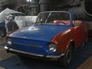 Příznivce automobilů v nové expozici jistě potěší vývojová řada škodovek. (14. listopadu 2012)