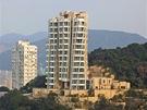 Budova světoznámého architekta Franka Gehryho v Hongkongu