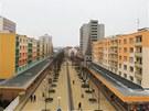 Sídliště Karlovina podle návrhu týmu Miloše Návesníka začalo růst v centru