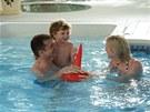 Vnitřní bazén si můžete užívat po celý rok.