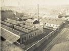 Celkový pohled na areál Ringhofferovy továrny v okolí dnešní Stroupežnického