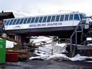 Horní stanice lanovky Malbun-Saries