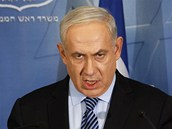 Izraelský premiér Benjamin Netanjahu (15. listopadu 2012)
