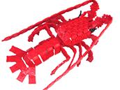 Humr, pohyblivý 3D model