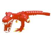 Tyranosaurus Rex, pohyblivý 3D model