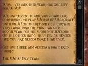 World of WarCraft - osmé výročí