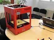 Tiskárna Easy 3D Maker je dodávána již sestavená, kovová konstrukce prý...