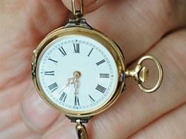 Tyto hodinky pocházejí z roku 1890. František Zborník je považuje za svůj