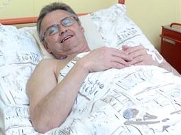 Petr Krzywoň po unikátní operaci spěchá zpátky do zaměstnání.