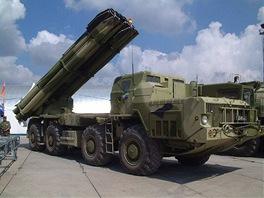 Těžký raketomet 9K58 Směrč (BM-30) ráže 300 mm byl základem pro vývoj čínských