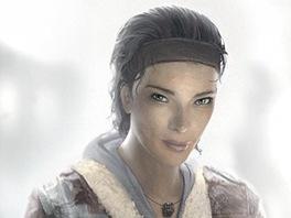 Alyx Vance z ak�n� sci-fi Half-Life 2