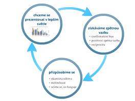 Kruh sebeprezentace a pozitivní zpětné vazby na sociálních sítích (Pavel Kasík,