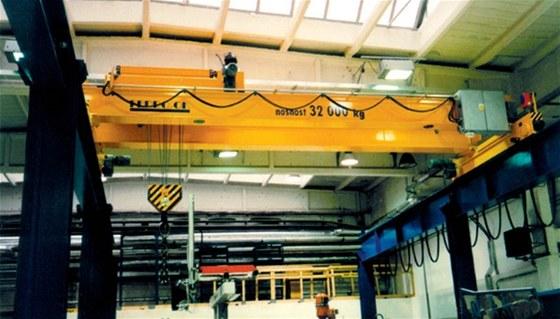Na výrobu špičkových jeřábů a ocelových konstrukcí je tu FERRO OK