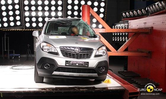 Crash test Opelu Mokka
