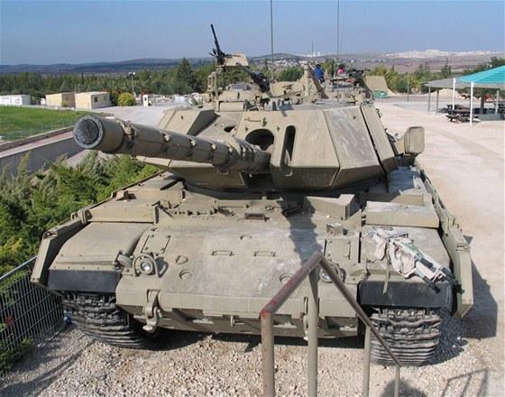 Záložní jednotky používají tanky Magach 7 různých verzí