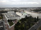 Pohled na budovu polského parlamentu ve Varšavě. Archivní snímek