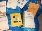 Návody k výrobě výbušnin, které polská policie zabavila v bytě muže podezřelého