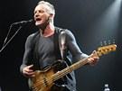 Britský zpěvák Sting při koncertu v ostravské ČEZ Aréně. (19.11.2012)