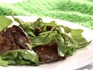 Rukolový salát s kuřecími játry