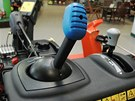Řízení komínku joystickem z ovládacího panelu