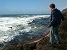 Z filmu Na divok� vln�
