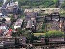 Areál kladenské Poldi Kladno je znečištěn chemickými látkami.