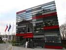 Slavnostně otevřená budova Biomedregu - Ústavu molekulární a translační medicíny.