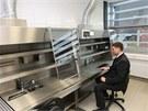 Jedna z nových laboratoří nové slavnostně otevřené budovy Teoretických ústavů Lékařské fakulty Univerzity Palackého.