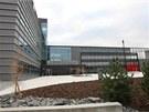 Nová slavnostně otevřená budova Teoretických ústavů Lékařské fakulty Univerzity Palackého.