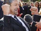 Herec Andy Serkis, filmový Glum, na premiéře filmu Hobit: Neočekávaná cesta
