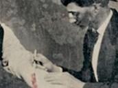 Jedna z mála dochovaných fotografií pouštěných žilou. Pochází zhruba z roku