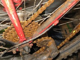 Zazimování jízdního kola je třeba!