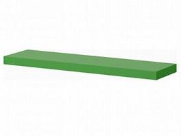Ikea lack plank ophangen